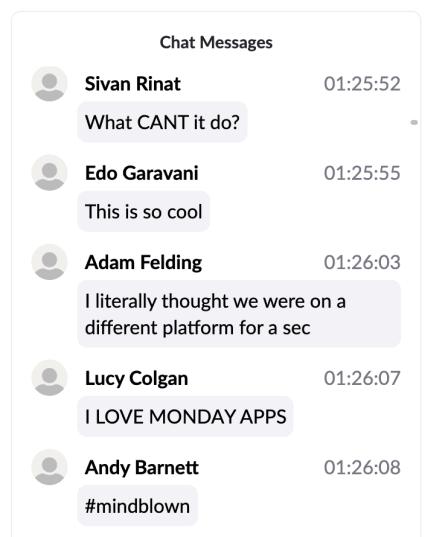 remote hackathon chat