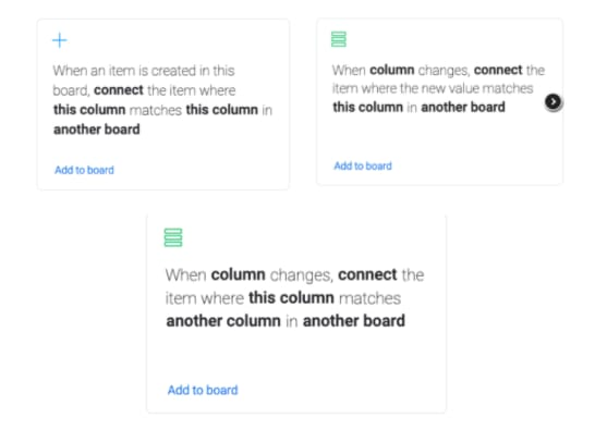 syncing items between boards