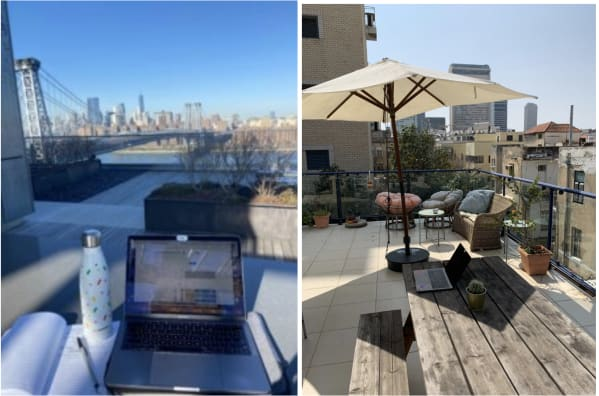 WFH: views and rays