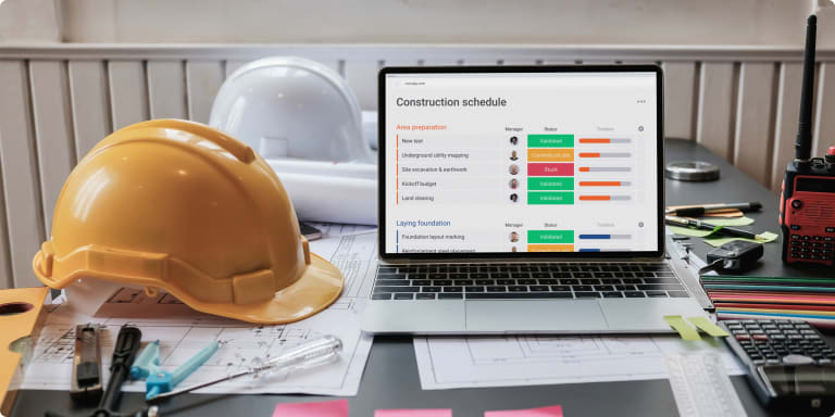 How to create the perfect construction timeline template for your business