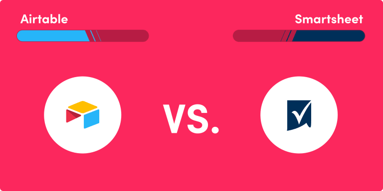 Smartsheet vs. Airtable: similar, with some differences