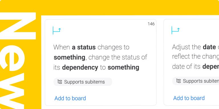 Dependencies recipes enhancements, more Kanban columns, and more!