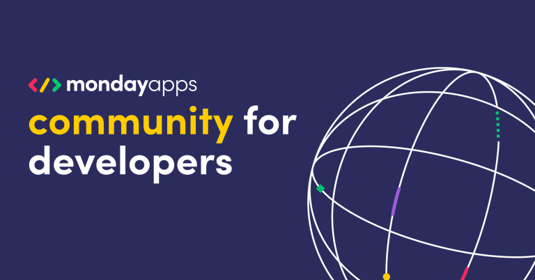Fostering a community of builders: An inside look at our monday Apps builders' workshop