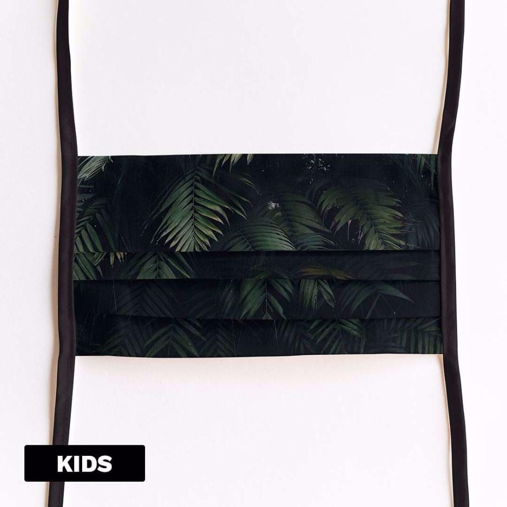Mondmasker Kids Jungle met linten
