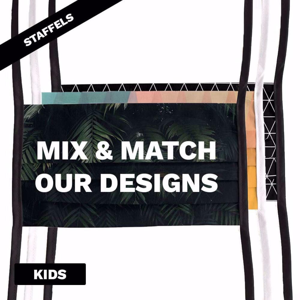 Mondmasker Kids met print goedkope staffelprijzen
