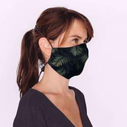 Mondmasker Duo Jungle met elastiek en stopper voor Volwassen