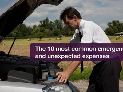 The 10 most common emergencies and unexpected expenses