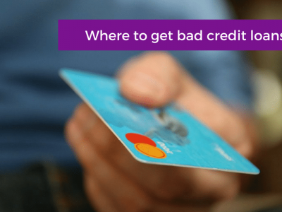 Where to get bad credit loans