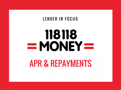 118 APR and how Repayments Work