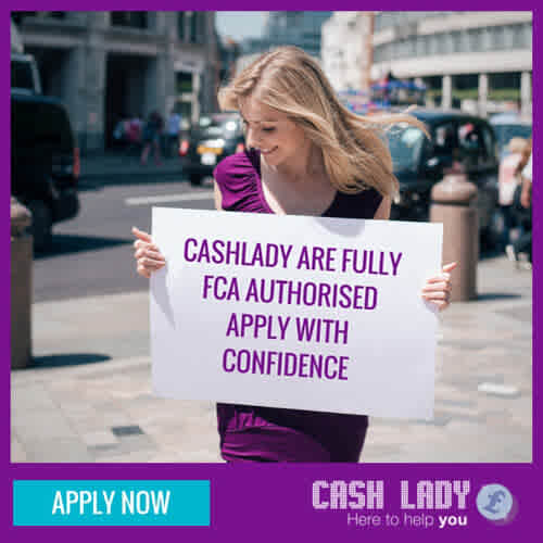 CashLady are fully FCA authorised