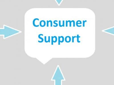 Consumer support websites