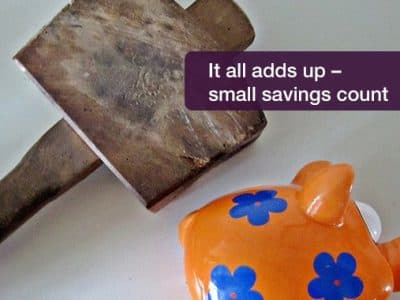 Small savings – discover how to make them work