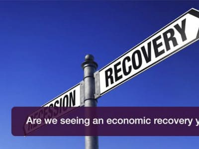 Are we seeing an economic recovery yet?