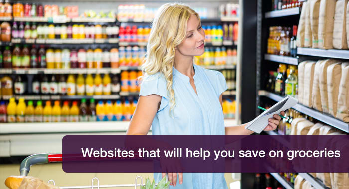Websites that will help you save on groceries