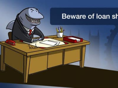Beware of loan sharks