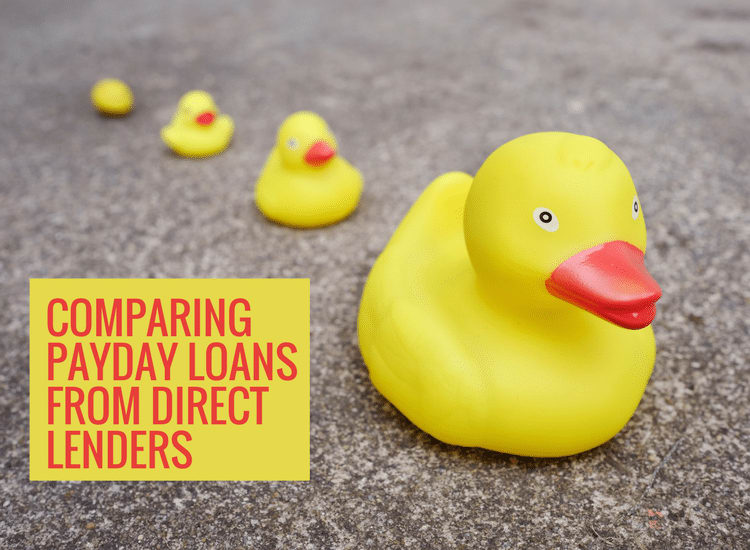 Payday Loans Direct Lenders Comparison