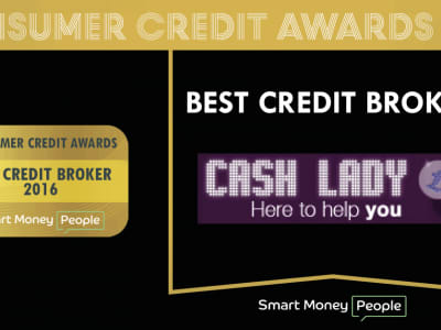 Cash Lady wins in the 2016 Consumer Credit Awards