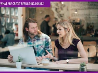 What are credit rebuilding loans?
