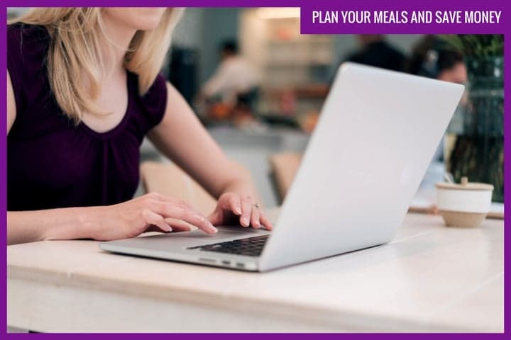Plan your meals and save money