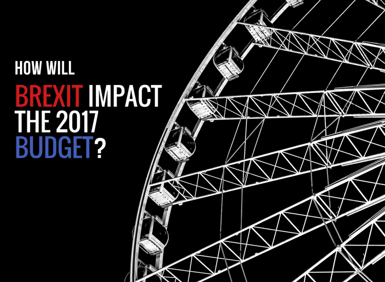 How will brexit impact the 2017 budget