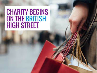 Charity begins on the British High Street