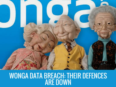 Wonga Data Breach: Wonga's Defences are Down