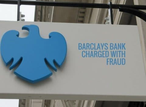 Barclays Bank Charged with Fraud