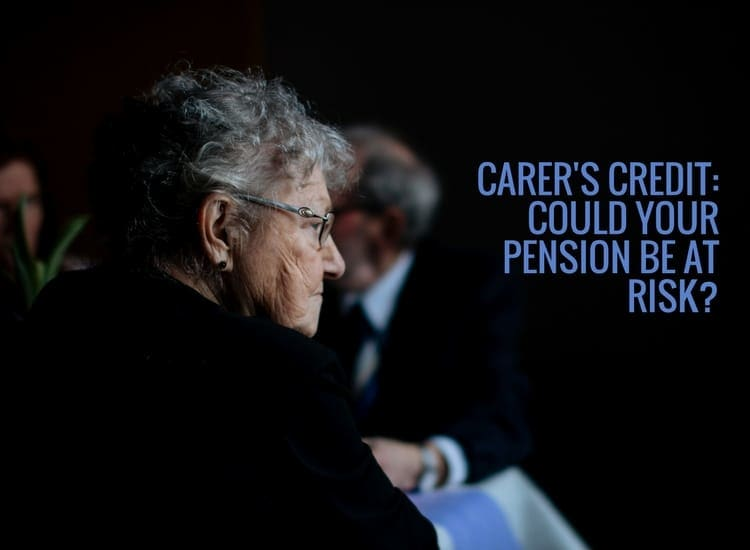 Carers not claiming carers credit could be putting their state pension at risk