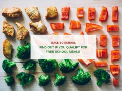 Back to School: Find out if you qualify for free school meals