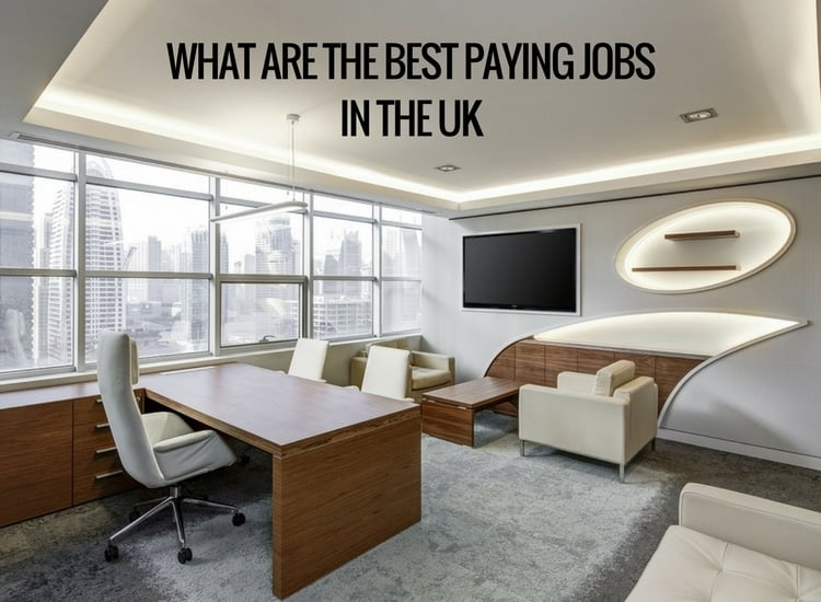 best paying uk jobs