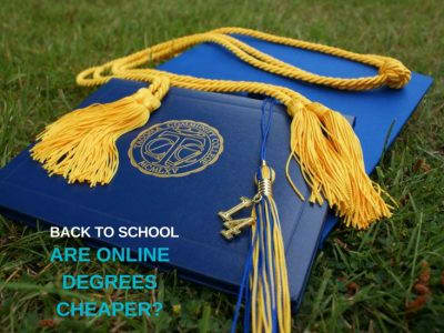 Are online degrees cheaper?