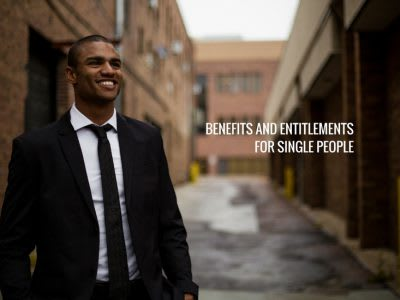 Benefits and entitlements for single people