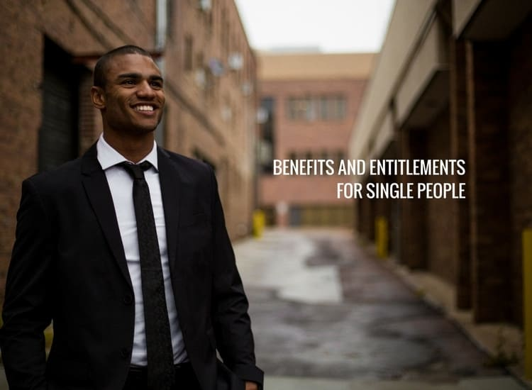 benefits for single people