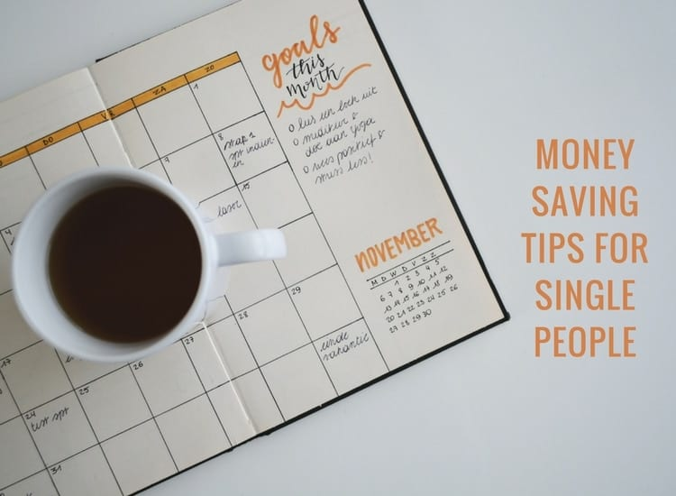 money saving tips for single people