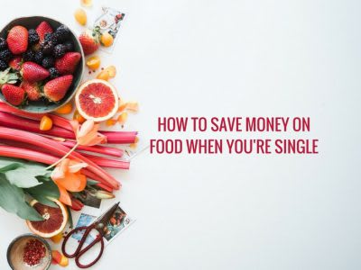 How to save on food when you're single