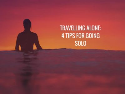 Four tips for travelling solo