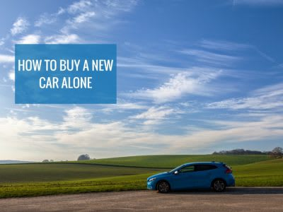 How to buy a new car alone