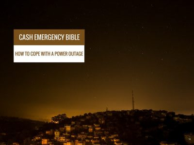 Cash Emergency Bible: How to cope with a power outage