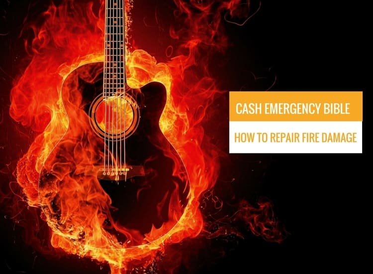 Cash emergency Bible: How to repair fire damage in your home