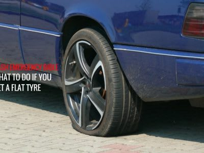Cash Emergency Bible: What to do if you get a flat tyre