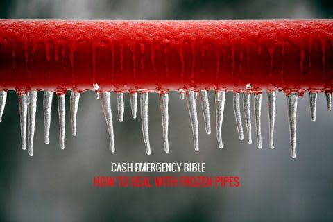 Cash Emergency Bible: How to cope with burst and frozen pipes