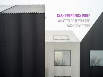 Cash Emergency Bible: How to get help if you're facing eviction