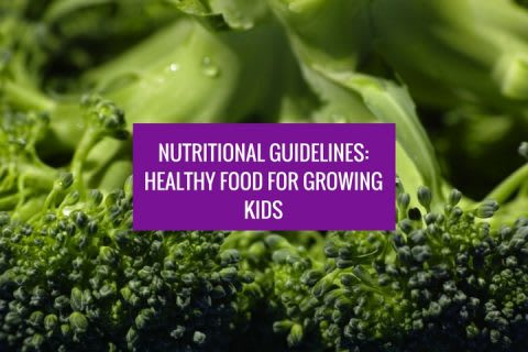 Healthy Food for Kids: How to nourish your child into a healthy adult
