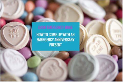 Cash Emergency Bible: Struggling to come up with an emergency anniversary present?