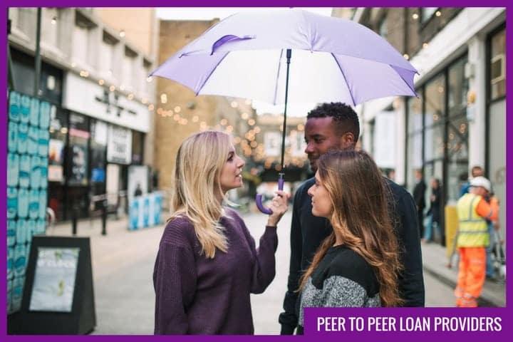 Peer to peer loan providers