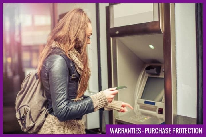 credit cards and warranties