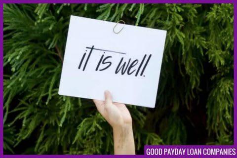 good payday loan companies
