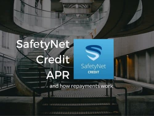 SafetyNet Credit APR and how repayments work