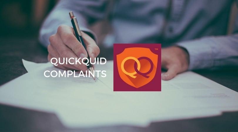 QuickQuid complaints