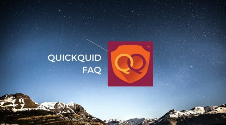 QuickQuid FAQ